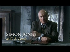 Simon Jones as C.S. Lewis from The Question of God