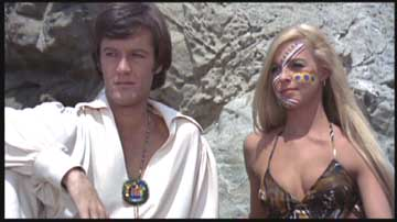 Peter Fonda and friend