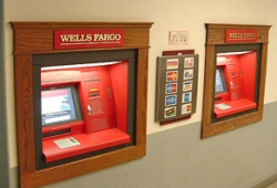 Wells Fargo ATMs at McMurdo Station, Antarctica