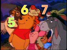 Winnie the Pooh: 123s