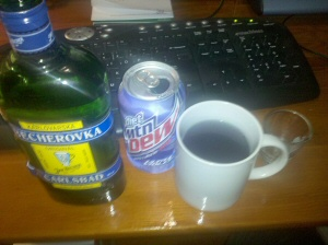 Becherovka vs. Mtn Dew Ultraviolet