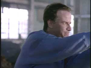 Christopher Lambert as Connor McLeod in Highlander Season 1