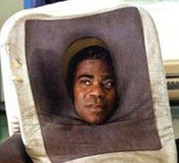 Tracy Morgan as a cell phone in Cop Out