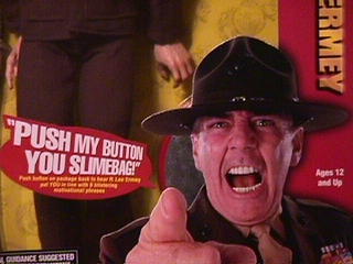 R. Lee Ermey Push My Button