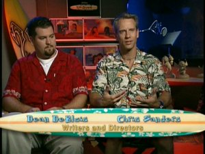 Dean Deblois and Chris Sanders of Lilo and Stitch