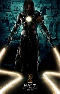 Iron Man 2 Whiplash poster