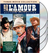 Louis L'Amour Western Collection DVD Cover Art