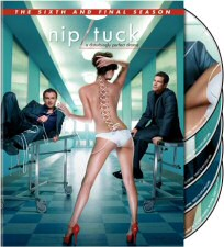 Nip/Tuck The Sixth and Final Season DVD Cover Art