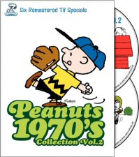Peanuts 1970's Collection Vol. 2 DVD Cover Art