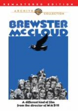 Brewster McCloud DVD Cover Art
