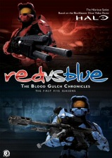 Red vs. Blue: The Blood Gulch Chronicles DVD Cover Art