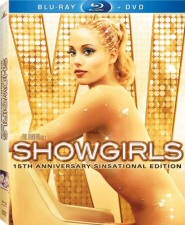 Showgirls 15th Anniversary Blu-ray Cover Art