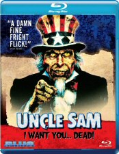 Uncle Sam: I Want You... Dead! Blu-ray Cover Art