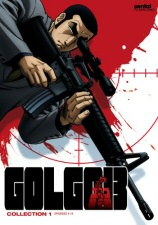 Golgo 13 Collection 1 DVD Cover Art