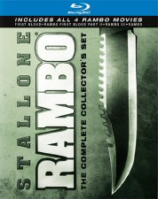 Rambo The Complete Collector's Set Blu-ray Cover Art