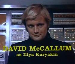 David McCallum as Illya Kuryakin