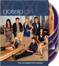 Gossip Girl Season 3 DVD Cover Art