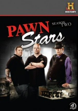 Pawn Stars Season 2 DVD Cover Art