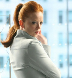 Shirley Manson as Catherine Weaver in Sarah Connor Chronicles