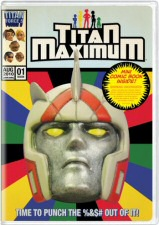 Titan Maximum Season One DVD Cover Art