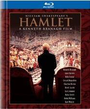 William Shakespeare's Hamlet Blu-ray Cover Art