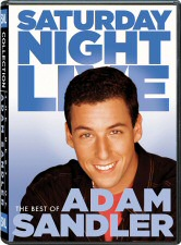 Saturday Night Live: The Best of Adam Sandler DVD Cover Art