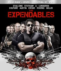 The Expendables Blu-ray/DVD Cover Art