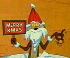 Santa Wile E. Coyote
