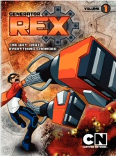 Generator Rex, Vol. 1: The Day That Everything Changed DVD