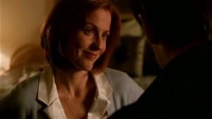 Gillian Anderson from X-Files Season 8