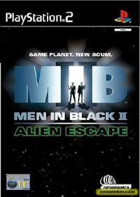 Men In Black 2 Alien Escape game cover