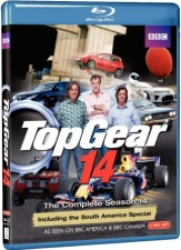 Top Gear Season 14 Blu-Ray