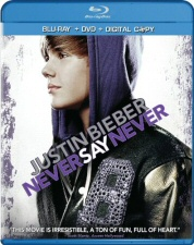 Justin Bieber: Never Say Never Blu-Ray