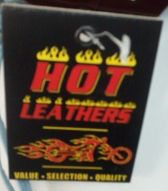 Hot Leathers tag