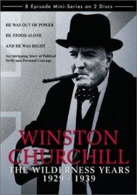 Winston Churchill The Wilderness Years DVD cover