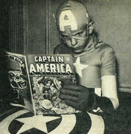Captain America kid