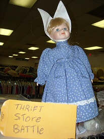Might As Well Be Haunted Doll