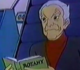 Animated Dr. Smith from Lost in Space