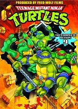 Teenage Mutant Ninja Turtles: The Complete Season 9 DVD