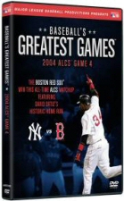 Baseball's Greatest Games: 2004 ALCS Game 4 DVD