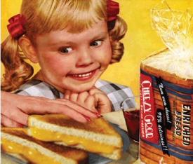 Creepy Kid vs. grilled cheese