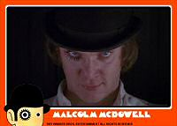 Clockwork Orange Bubblegum Card
