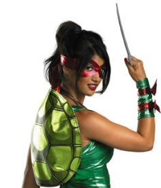 Sexy Teenage Mutant Ninja Turtle Costume WTF Jesus GAH