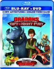 Dragons: Gift of the Night Fury Blu-Ray