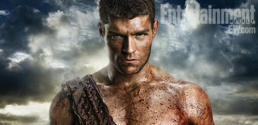Liam McIntyre as Spartacus from Spartacus: Vengeance