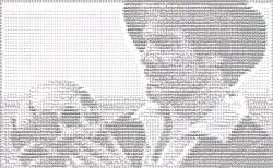 Derek Jacobi as ASCII Hamlet