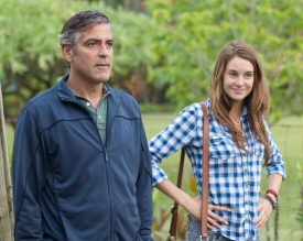 George Clooney and Shailene Woodley from The Descendants