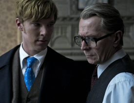 Benedict Cumberbatch and Gary Oldman from Tinker Tailor Soldier Spy
