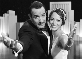Jean Dujardin and Berenice Bejo from The Artist