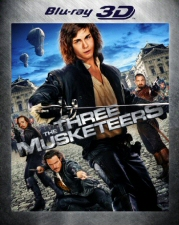 Three Musketeers 3D Blu-Ray